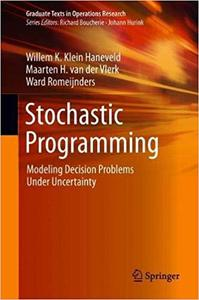 Stochastic Programming: Modeling Decision Problems Under Uncertainty