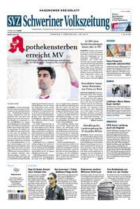 Schweriner Volkszeitung Hagenower Kreisblatt - 04. Februar 2020