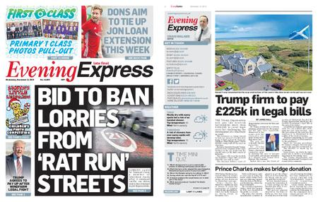 Evening Express – November 13, 2019