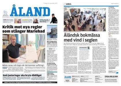 Ålandstidningen – 14 november 2017