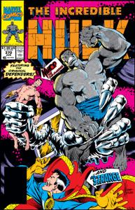 Incredible Hulk 370 1990