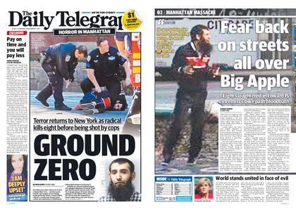 The Daily Telegraph (Sydney) – November 02, 2017