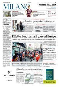 Corriere della Sera Milano - 28 Luglio 2018