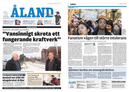 Ålandstidningen – 11 januari 2019