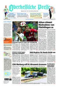 Oberhessische Presse Marburg/Ostkreis - 18. August 2018