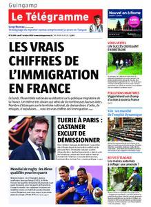 Le Télégramme Guingamp – 07 octobre 2019
