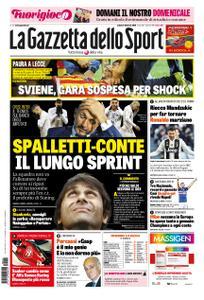 La Gazzetta dello Sport Roma – 02 febbraio 2019