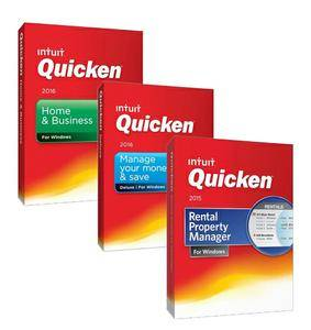 Intuit Quicken Collection Package 2016