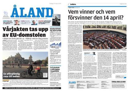 Ålandstidningen – 19 mars 2019