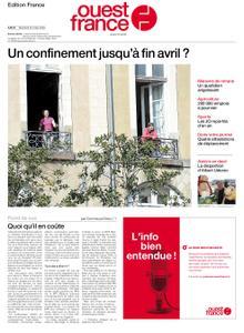 Ouest-France Édition France – 25 mars 2020