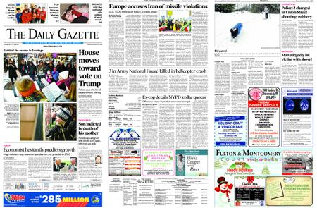 The Daily Gazette – December 06, 2019