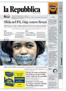 la Repubblica - 3 Maggio 2018