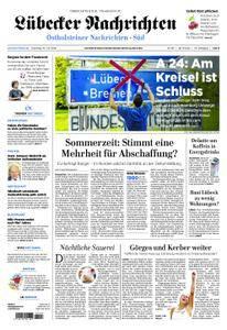 Lübecker Nachrichten Ostholstein Süd - 10. Juli 2018