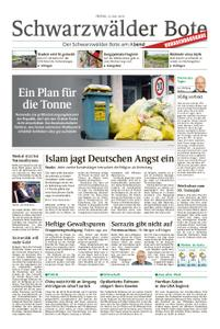 Schwarzwälder Bote St. Georgen, Triberg, Furtwangen - 12. Juli 2019