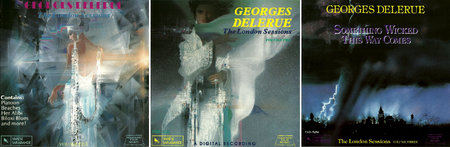 Georges Delerue - The London Sessions, Volume 1-3 (1990-1991) 3CD