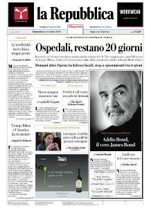 la Repubblica - 1 Novembre 2020