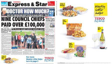 Express and Star Sandwell Edition – April 12, 2018