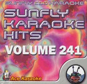 Sunfly Vol. 241 Karaoke Mp3g CDG