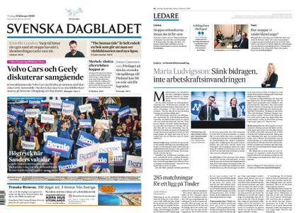 Svenska Dagbladet – 11 februari 2020