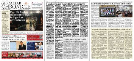 Gibraltar Chronicle – 09 January 2021