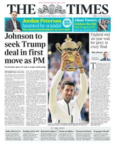 The Times - 15 July 2019
