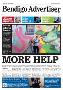 Bendigo Advertiser - April 22, 2020