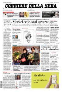 Corriere della Sera - 8 Febbraio 2018