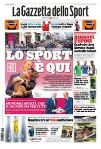 La Gazzetta dello Sport Roma – 11 ottobre 2019