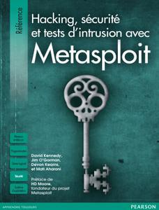 """Collectif, """"Hacking,Sécurité et tests d'intrusion avec Metasploit"""""""