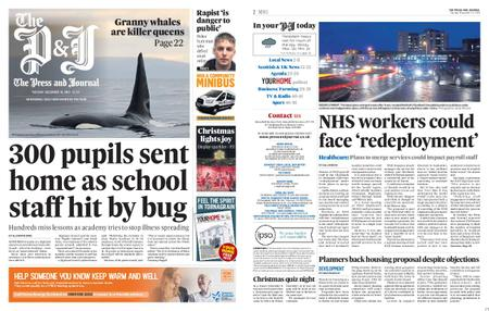 The Press and Journal Moray – December 10, 2019