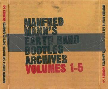 Manfred Mann's Earth Band - Bootleg Archives: Volume 1-5 (2009) {5CD Box Set}