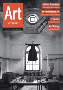 Art Monthly - September 2011   No 349