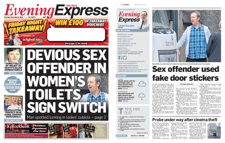 Evening Express – November 21, 2019