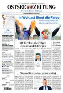 Ostsee Zeitung Wolgast - 16. April 2018
