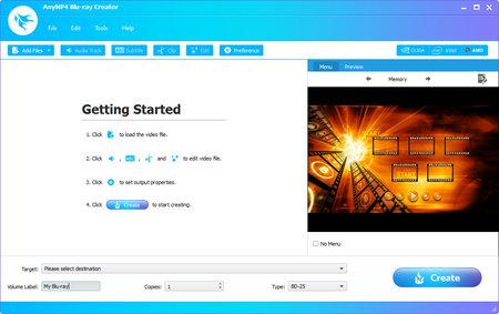 AnyMP4 Blu-ray Creator 1.1.58 Multilingual