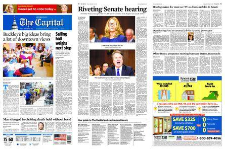 The Capital – September 28, 2018