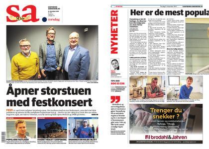 Sarpsborg Arbeiderblad – 12. desember 2019