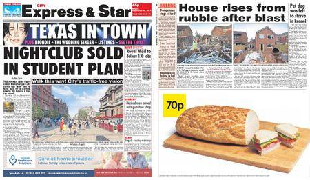 Express and Star City Edition – September 29, 2017