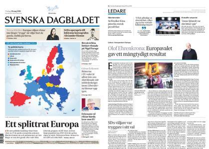 Svenska Dagbladet – 28 maj 2019