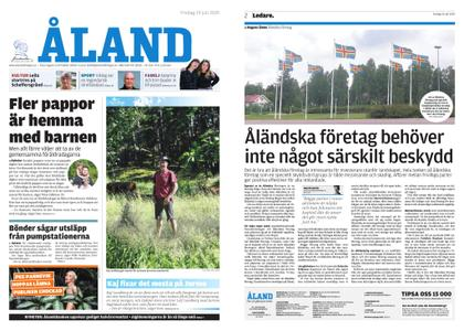 Ålandstidningen – 19 juli 2019