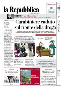 la Repubblica - 14 Aprile 2019
