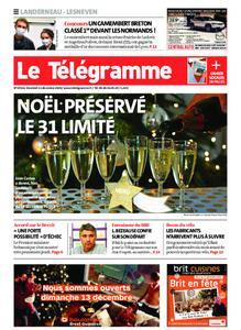 Le Télégramme Landerneau - Lesneven – 11 décembre 2020