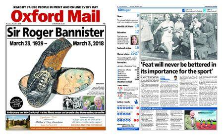 Oxford Mail – March 05, 2018