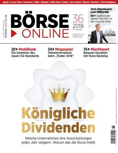 Börse Online - 6 September 2018