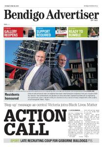 Bendigo Advertiser - June 8, 2020