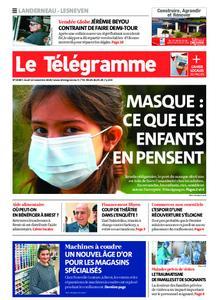 Le Télégramme Landerneau - Lesneven – 12 novembre 2020