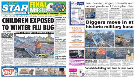 Shropshire Star Shrewsbury Edition – January 21, 2019
