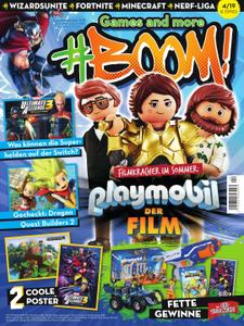 #BOOM! – August 2019