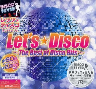VA - Let's Disco: The Best Of Disco Hits [3CD Box Set] (2018)
