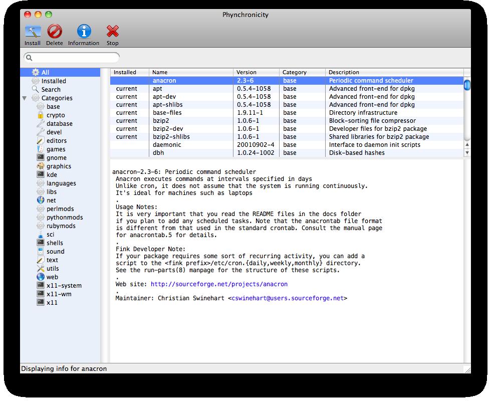 Code by Kevin Phynchronicity v4.0 Mac OS X